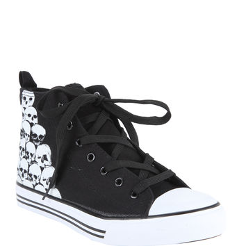 Stacked Skulls Hi-Top Sneakers