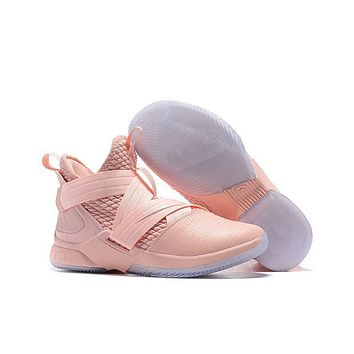 Lebron Soldier 12 Xii Ep Sneaker Pink | Best Deal Online