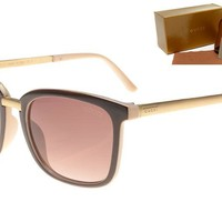 Gucci sunglass AA Classic Aviator Sunglasses, Polarized, 100% UV protection [2974244882]