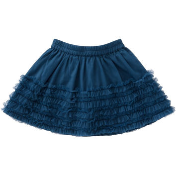 Room Seven - Girls Sikke Tulle Skirt in Midnight Blue