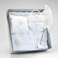 White Somerset Wedding Ceremony Collection Bridal Set