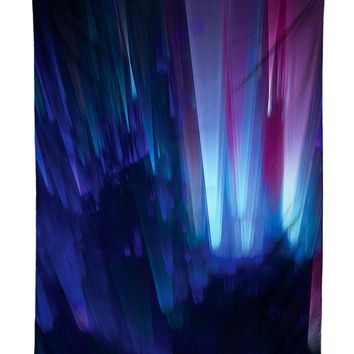 Northern Lights Galaxy Tapestry