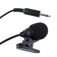 Mini Clip-On Lapel Mic Microphone 3.5mm Plug for MP4 Cellphone Desktop