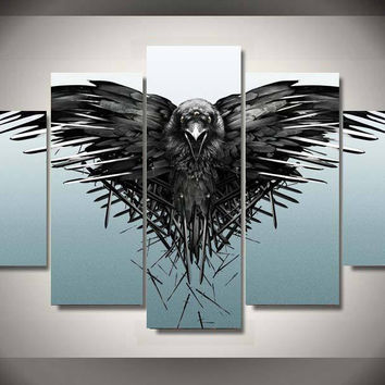 Game Of Thrones - Night Watch 5 Piece Canvas LIMITED EDITION