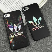 Nike Adidas 2018 Fashion iPhone 7 iPhone 7 plus - Stylish Cute Luminous On Sale Hot Deal iphone Matte Couple Phone Case For iphone 8 8 6plus