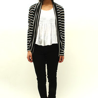 Claire Striped Cardigan