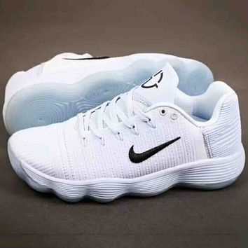 NIKE HYPERDUNK LOW 2017 Men Trending Casual Running Sports Sneakers Shoes White G-A-YYMY-XY
