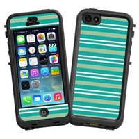 """Striped Ocean """"Protective Decal Skin"""" for LifeProof nuud iPhone 5 Case"""