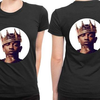 DCCKL83 Kendrick Lamar Control Queen 2 Sided Womens T Shirt