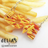 love fries necklace