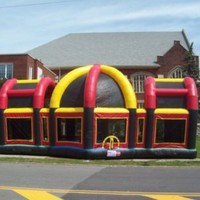 Inflatable Sports Arena Basketball Football Bounce House Jumper Play House cls