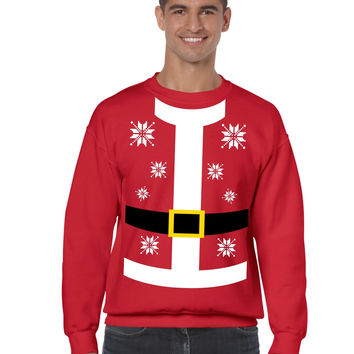 Santa suit Men's Sweatshirt