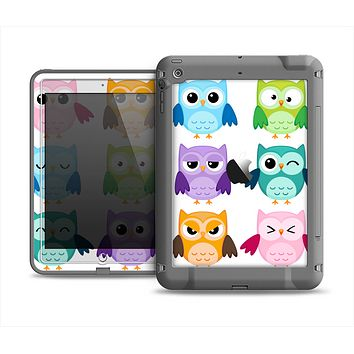 The Emotional Cartoon Owls Apple iPad Air LifeProof Fre Case Skin Set