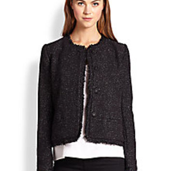 Joie - Calimesa Metallic Tweed Jacket - Saks Fifth Avenue Mobile