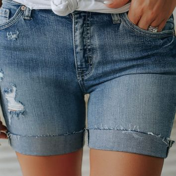 Oklahoma City Denim Shorts