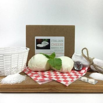 DIY Italian Cheese Making Kit - Learn how to make your own ricotta and mozzarella!