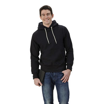 S Curve Raglan Hooded  Pull Over Fleece