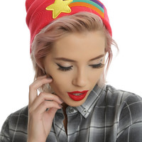 Disney Gravity Falls Mabel's Rainbow Star Sweater Cosplay Beanie