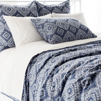 Ramala Indigo Duvet Cover design by Pine Cone Hill