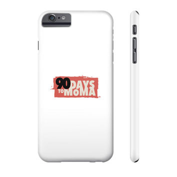 90 Days To MOMA Phone Case