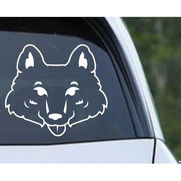 Fox Head (ver b) Die Cut Vinyl Decal Sticker