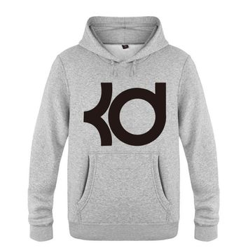 Hoodies Men Kevin Durant KD Logo Mens Hoodie Fleece Long Sleeve Skate Men's Sweatshirt Winter Male Pullover Tracksuit Sudaderas