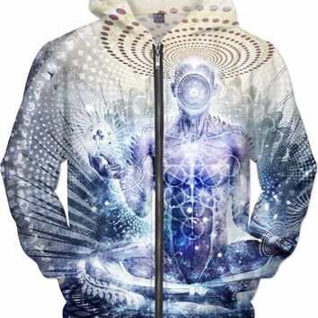 Awake Could Be So Beautiful - Zip Up Hoodie