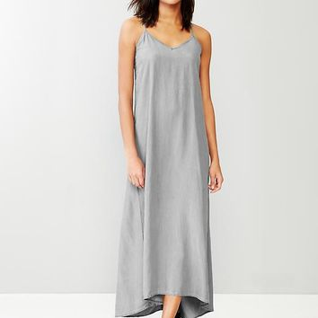 1969 Tencel Denim Maxi Dress