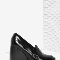 Jeffrey Campbell Truman Leather Wedge