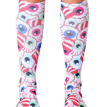 Bug Out Knee High Socks