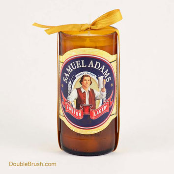 Samuel Adams Boston Candle Recycled Bottle