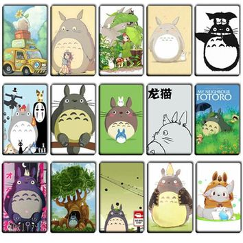Naruto Sasauke ninja 20 pcs/lot Funny Totoro Stickers Toys DIY Japanese Anime ONE PIECE Lovely Card Stickers  Kids Party Gifts Classic Toys AT_81_8