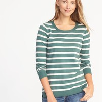 Classic Striped Sweater for Women |old-navy