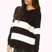 Easy Striped Sweater