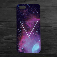 Galaxy Print Inverted Triangle iPhone 4 and 5 Case