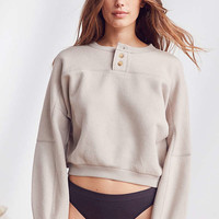 Out From Under Gloria Henley Sweatshirt | Urban Outfitters