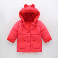 V-TREE Cotton snow wear coats boys girls winter snowsuit down baby snowsuit plus thick velvet infant snow jacket warm clothes