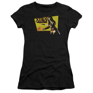Xena - Cut Up Short Sleeve Junior Sheer Shirt Officially Licensed T-Shirt