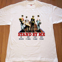 Stand By Me River Phoenix 80s Film T Shirt New Sizes Small to XXL