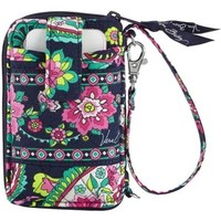 Vera Bradley Carry It All Wristlet in Petal Paisley