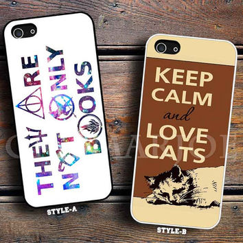 they are not only book & keep calm love cat