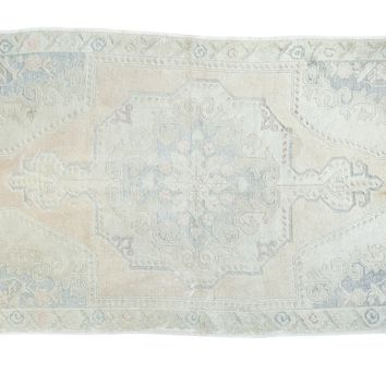 4.5x7.5 Distressed Oushak Rug