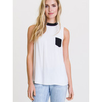 Boxed In Sleeveless Top | RVCA