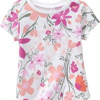 Crew-Neck Tees for Baby