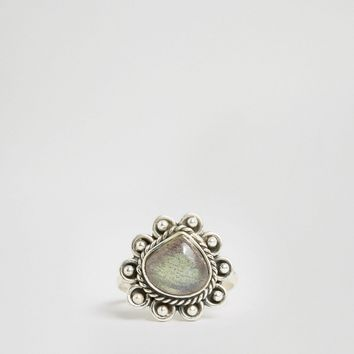 Child Of Wild Sterling Silver Cosmos Lover Ring at asos.com