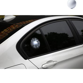 Funny 3D Car Sticker And Decal Golf Hit Window For Ford Focus Volkswagen Skoda Mercedes BMW Renault Opel Mazda Chevrolet Cruze