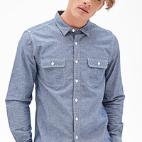 Western-Inspired Denim Shirt