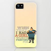 wish that i had a girl worth fighting for.. mulan, chen po iPhone & iPod Case by studiomarshallarts