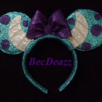 Monsters Inc. Sulley Minnie Mouse Ears headband