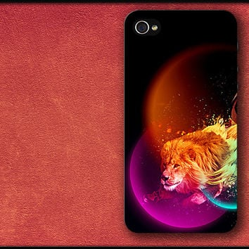 Running Lion Phone Case iPhone Cover